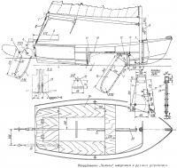 Оборудование «Чижика» швертовым и рулевым устройством