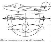 Общая компоновочная схема «Дископлана-2»