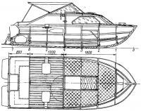 Общее расположение катера «Арго»