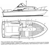 Общее расположение катера «Экспресс-крейсер»
