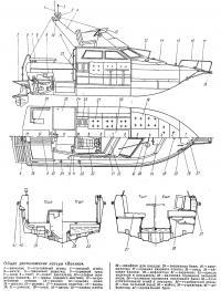 Общее расположение катера «Викинг»