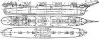 Общее расположение корабля
