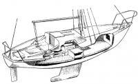 Общее расположение яхт типа «Нефрит»