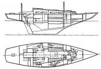 Общее расположение яхты «Арктика»
