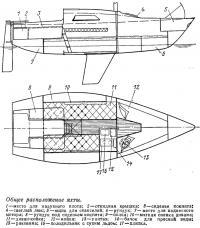 Общее расположение яхты «Соната-7»