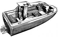 Общее устройство катера «RZ-8»