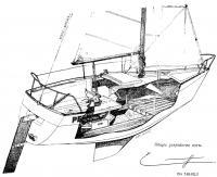 Общее устройство яхты «Пан Дюик 600»