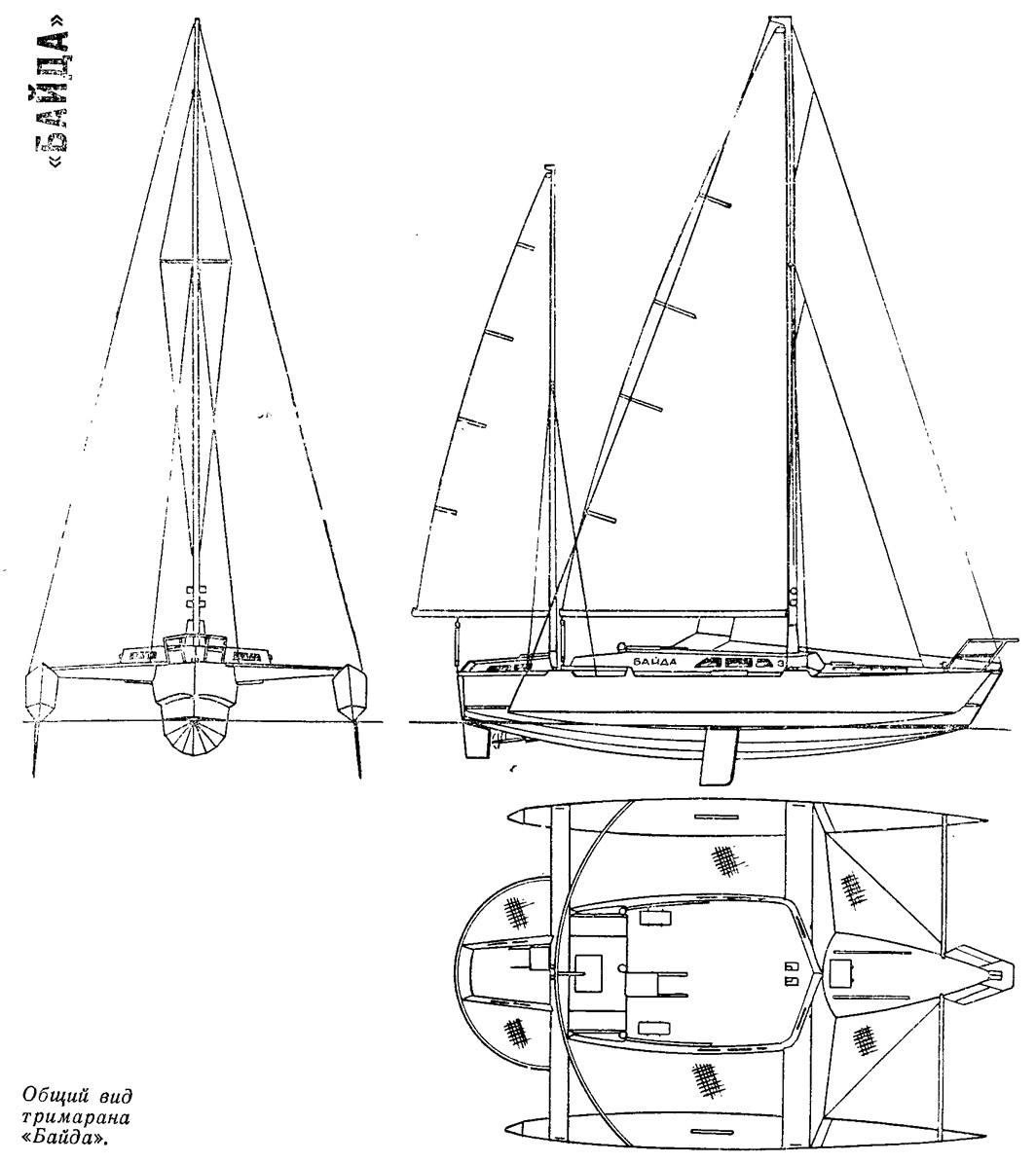 лодка байда чертежи