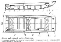 Общий вид гребной лодки «Таймень»