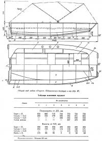 Общий вид лодки «Окунь»