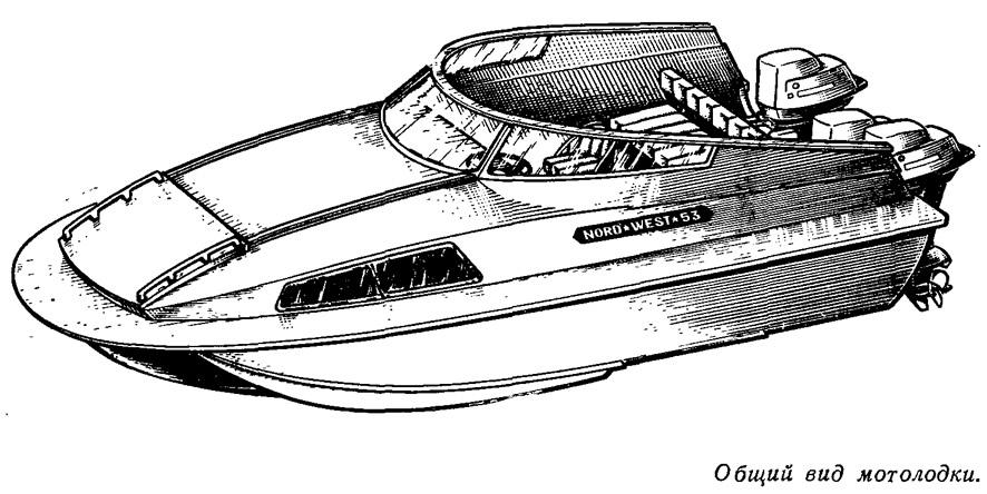 моторные лодки nord