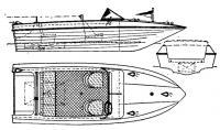 Общий вид мотолодки «Ягуар»