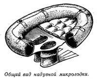 Общий вид надувной микролодки