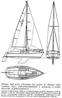 Общий вид яхты «Контра»