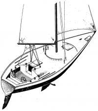 Общий вид яхты «однотонника»