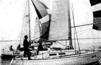 Одна из яхт-участниц регаты