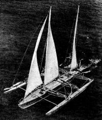Океанский гоночный тримаран «Манурева»
