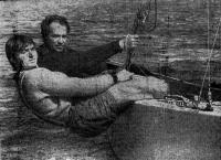 Олимпийские чемпионы в «Звездном» классе Валентин Манкин и Александр Музыченко