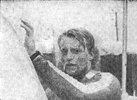 Олимпийский чемпион в классе «Финн» Эско Рекхард (Финляндия)