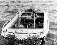 Опытный образец новой лодки на испытаниях