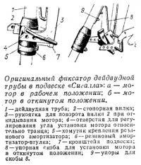 Оригинальный фиксатор дейдвудной трубы в подвеске «Сигалла»
