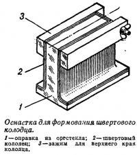 Оснастка для формования швертового колодца