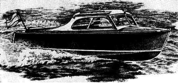 Остроскулый 6-метровый прогулочный катер «Сильвия»