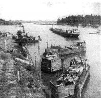 Отряд балтийских тендеров во время боевых действий на Висле