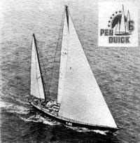 «Пан Дюик VI» — яхта победителя ОСТАР-76 Эрика Табарли