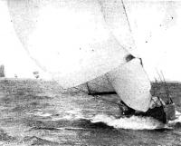 Паруса на яхте