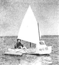 Парусник из лодки «Малютка»