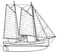 Парусно-моторное многоцелевое промысловое судно-буксир «Норфолк Ребел»