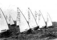 Парусные яхты на дистанции
