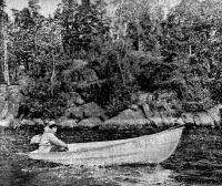 «Пелла» под мотором среди островов Вуоксы