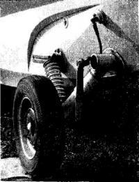 Передняя подвеска амфибии