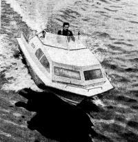 Первая «Радуга-51», построенная в Ленинграде Э. К. Карасевым