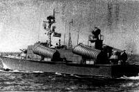 Первый в мире большой ракетный катер