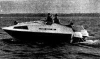 Первый выход нового крейсера «Норд-вест-53» на Ладогу