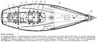 План палубы