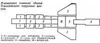Планировка главного здания Олимпийского парусного центра