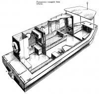 Планировка плавучей дачи «Янга»