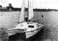 Пластмассовый крейсерский катамаран «Старт»