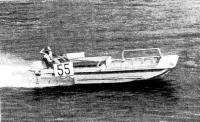 Плавдача на трассе гонок на приз сборника в 1976 г.