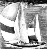 Победитель гонки — яхта «Флайнг Вильма» на финише в Роттердаме