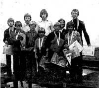 Победители лиепайской встречи юных яхтсменов