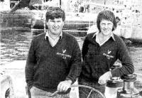 Победители ТУ-СТАР — Чей Блит (слева) и Роберт Джеймс