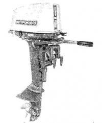 Подвесной мотор «Ветерок-8Э»
