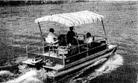 Понтонная лодка «Делюкс Командор»