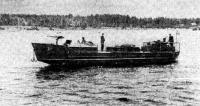 Построенный для Дороги жизни тендер во время наступательных операций 1944—1945 гг.
