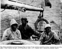 При обмене экипажами во время Операции Парус на борту «Рицы»